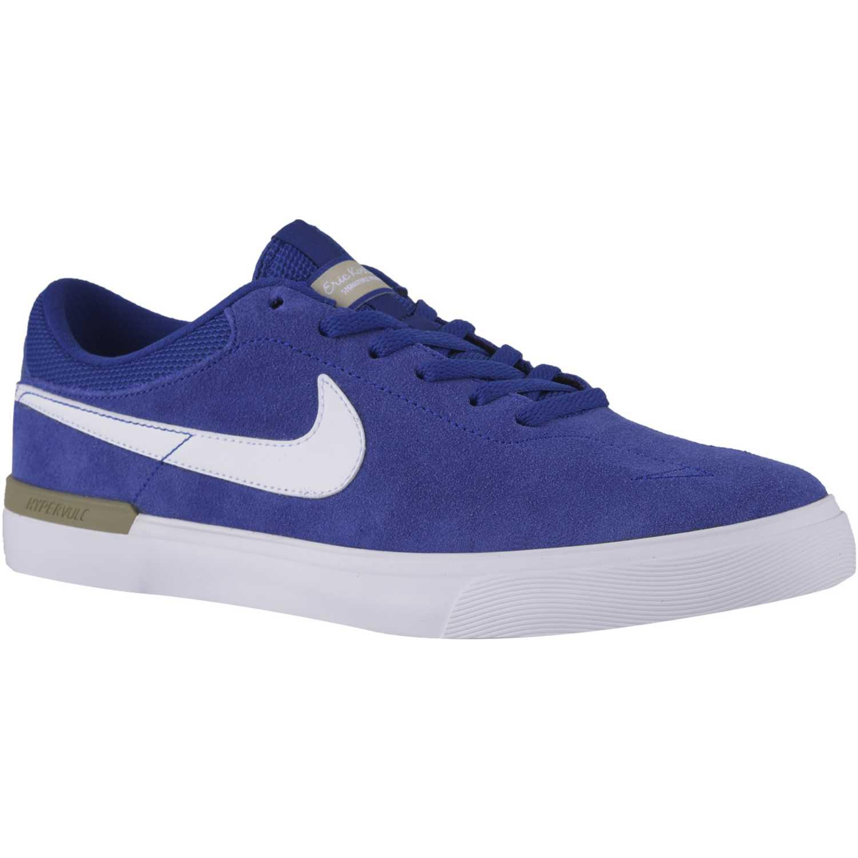 Zapatilla de Hombre Nike Azulino  Blanco sb koston hypervulc