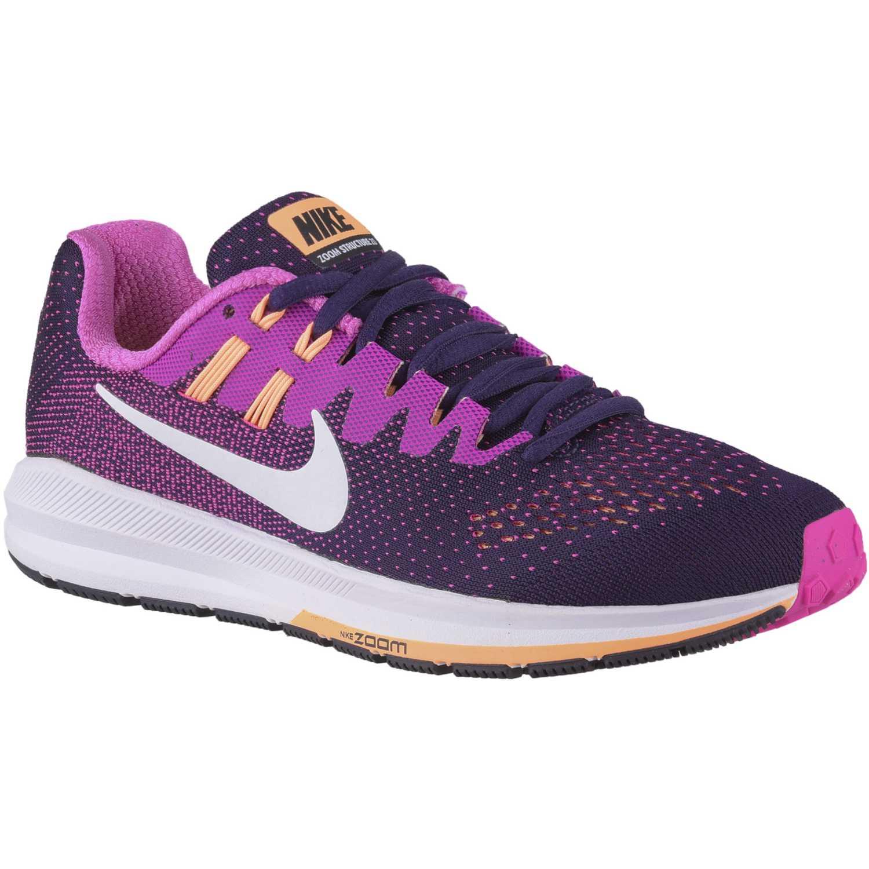 Zapatos lila Nike Zoom Structure para mujer pCIgbcZY