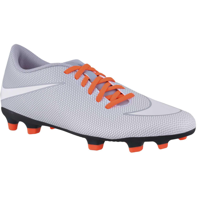 ... buy zapatilla de hombre nike gris naranja bravata ii fg 5e253 038fe f7098f6c7192b