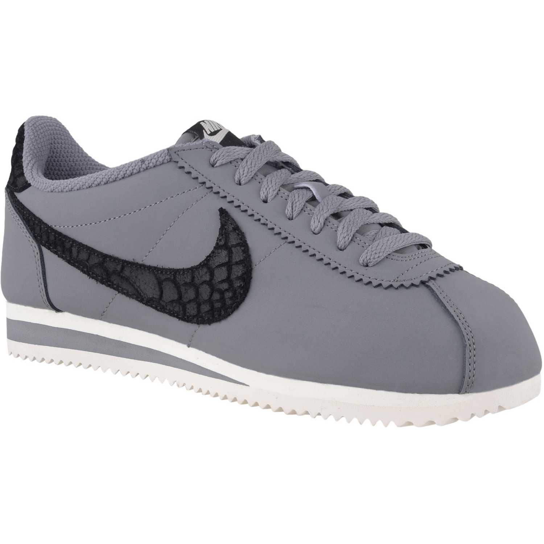 outlet store cbb43 4665a Zapatilla de Hombre Nike Gris   Negro classic cortez leather se