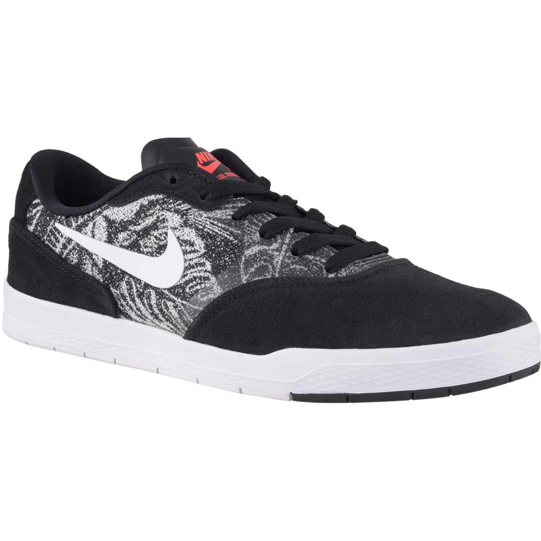 Zapatilla de Hombre Nike Negro / blanco paul rodriguez 9 cs ...