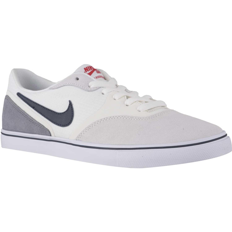 purchase cheap 122c2 36fe6 Zapatilla de Hombre Nike Blanco / Negro paul rodriguez 9 vr ...