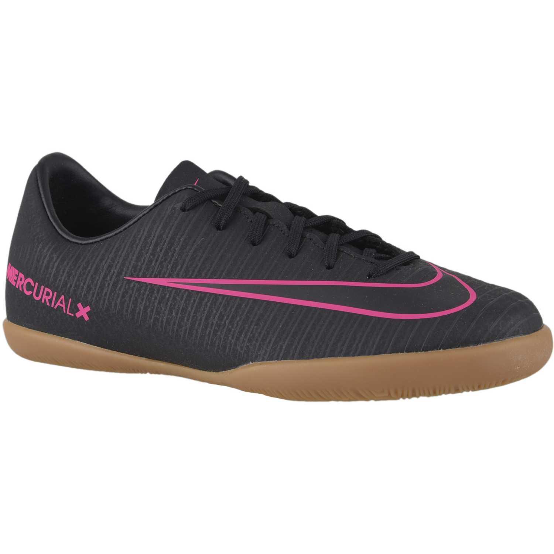 Zapatilla de Jovencito Nike Negro / marrón jr mercurial vapor xi ic