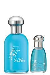 Kiwi sin color de Mujer modelo IN BLUE 49936 120ML + 15ML Perfumes