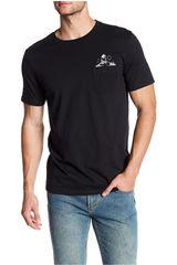 Volcom Negro de Hombre modelo SKETCHY S/S PCKT TEE Polos Casual