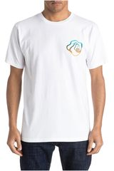Ropa de Hombre Quiksilver AM SS TEE STAY HIGH Blanco