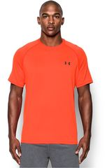 Camiseta de Hombre Under Armour Anaranjado UA TECH SS TEE