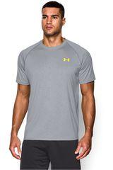 Under Armour Gris / Amarillo de Hombre modelo UA TECH NOVELTY SS Polos Deportivo Camisetas