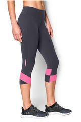 Capri de Mujer Under Armour Plomo / Rosado FLY BY COMPRESSION CAPRI