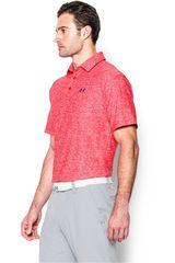 Under Armour Coral / Azul de Hombre modelo UA PLAYOFF POLO Polos Camisetas Deportivo