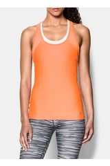Bividi de Mujer Under Armour Anaranjado HEATGEAR ARMOUR TANK