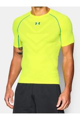 Polo de Hombre Under Armour Amarillo / Azul ARMOURVENT COMP SS