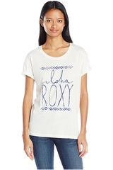 Roxy Beige de Mujer modelo JUST GO Casual Polos