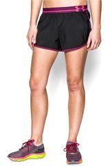 Under Armour Negro / Lila de Mujer modelo UA PERFECT PACE SHORT Deportivo Shorts