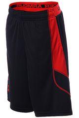 Under Armour Negro / Rojo de Jovencito modelo HALFBACK TECH SHORT Shorts Deportivo