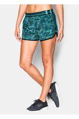 Under Armour Verde / Negro de Mujer modelo UA PRNT PERFECT PACE SHORT Shorts Deportivo