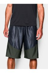 Under Armour Negro / Olivo de Hombre modelo MO MONEY 12IN SHORT Deportivo Shorts