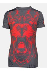 Polo de Niño Under Armour Gris / Naranja ALTER EGO BEAST MODE LION