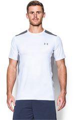 Camiseta de Hombre Under Armour Blanco / Gris RAID SS TEE
