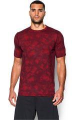 Under Armour Rojo / Vino de Hombre modelo RAID SS TEE Camisetas Deportivo Polos Walking Hombre Ropa