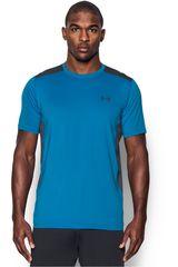 Camiseta de Hombre Under Armour Celeste / Gris UA RAID SS