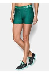 Under Armour Verde de Mujer modelo HG ALPHA PRINTED SHORTY Deportivo Pantalonetas Shorts
