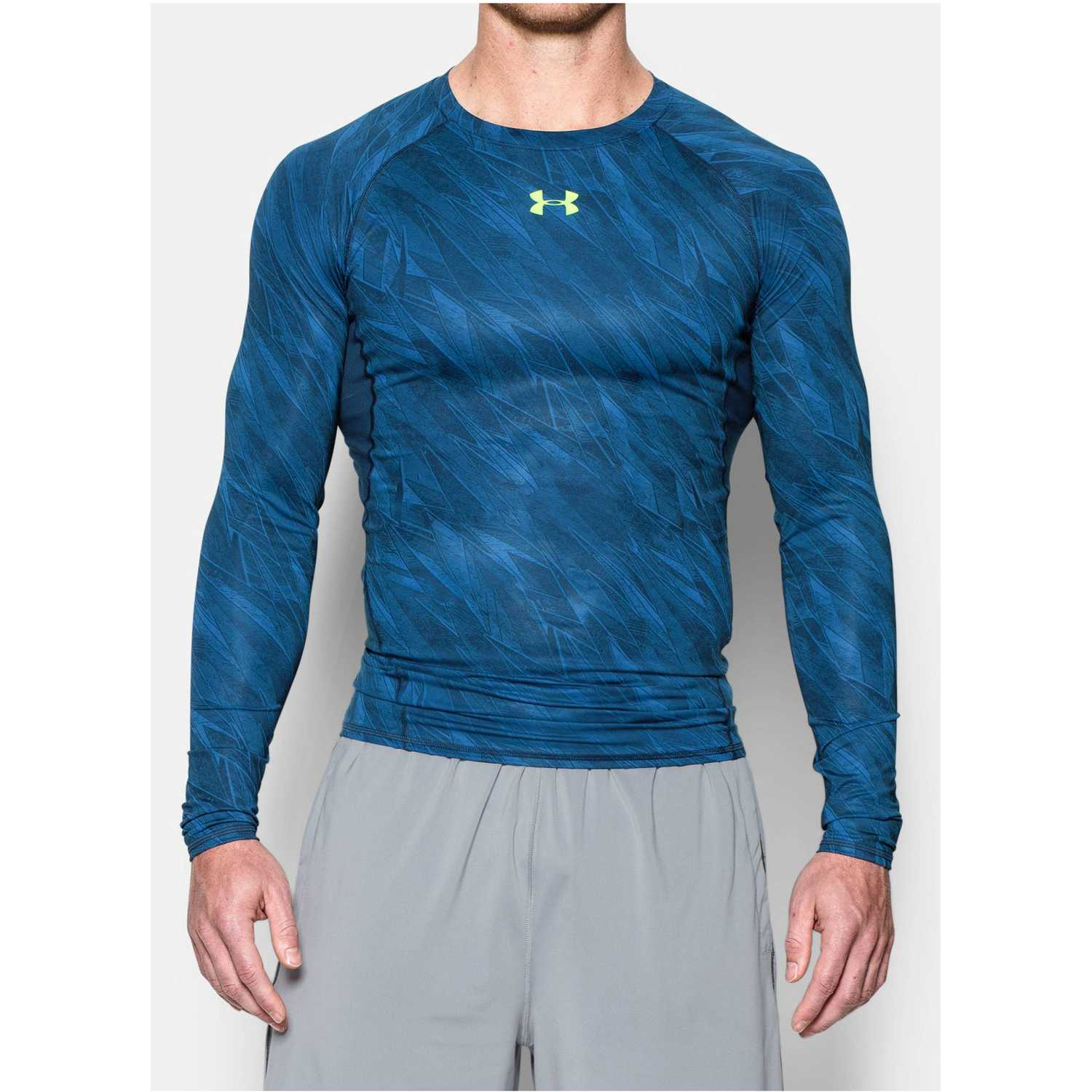 Polo de Hombre Under Armour Azul / Acero armour hg ls comp printed
