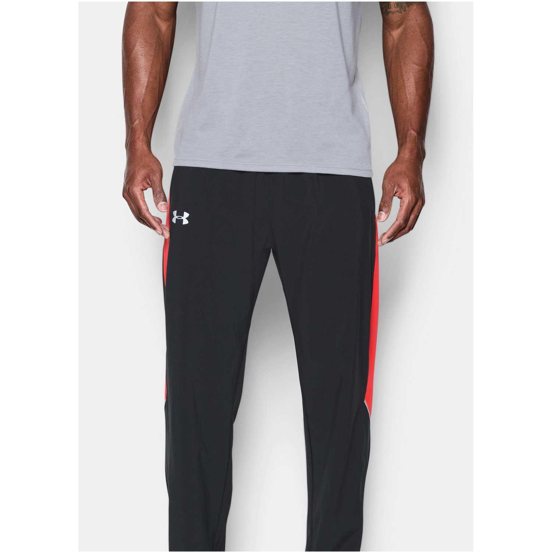 Pantalón de Hombre Under Armour Negro / Rojo ua launch sw pant