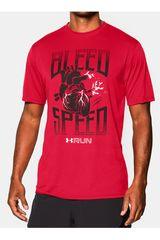 Under Armour Rojo de Hombre modelo BLEED FOR SPEED TEE Polos Deportivo