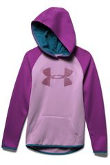 Polera de Niña Under Armour Lila / morado af big logo hoody