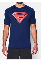 Under Armour Azul / Rojo de Hombre modelo SUPERMAN 2.0 LOOSE T Camisetas Polos Deportivo