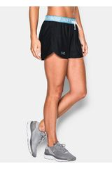 Under Armour Negro / Celeste de Mujer modelo UA PLAY UP SHORT Shorts Deportivo