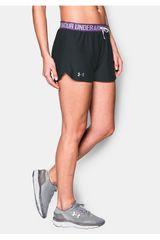 Under Armour Negro / Morado de Mujer modelo UA PLAY UP SHORT Deportivo Shorts