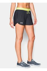 Under Armour Negro / Amarillo de Mujer modelo UA PLAY UP SHORT Shorts Deportivo