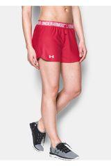 Under Armour Rojo / Blanco de Mujer modelo UA PLAY UP SHORT Shorts Deportivo