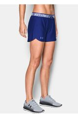 Under Armour Morado / Blanco de Mujer modelo UA PLAY UP SHORT Deportivo Shorts