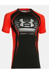 Under Armour Negro / Rojo de Jovencito modelo ARMOUR UP SS Polos Deportivo