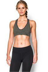 Under Armour Gris de Mujer modelo SEAMLESS PLUNGE NOVELTY Tops Deportivo