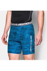 Under Armour Celeste / Gris de Hombre modelo UA HG COOLSWITCH COMP SHORT Shorts Deportivo Pantalonetas