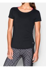 Under Armour Negro de Mujer modelo FLY BY TEE Polos Deportivo