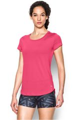 Under Armour Fucsia de Mujer modelo FLY BY TEE Deportivo Polos