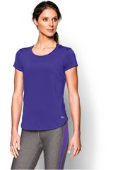 Under Armour Violeta de Mujer modelo FLY BY TEE Deportivo Polos