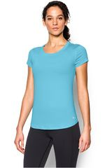 Under Armour Turquesa de Mujer modelo FLY BY TEE Deportivo Polos