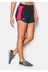 Under Armour Negro / Fucsia de Mujer modelo FLY BY SHORT Deportivo Shorts