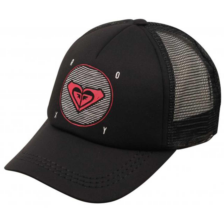 Gorro de Mujer Roxy Negro   Fucsia truckin  48378e2e6ab