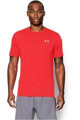 Under Armour Rojo / Blanco de Hombre modelo UA STREAKER SHORTSLEEVE T Camisetas Deportivo Polos Walking Hombre Ropa