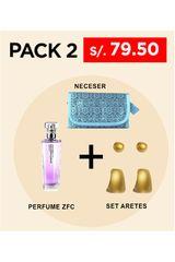 Belleza Zermat PACK PERFUME + SET DE ARETES Sin Color