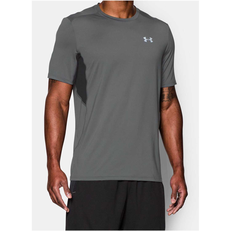 b14cd44ef09 Camiseta de Hombre Under Armour Gris / Plomo ua coolswitch run s/s ...