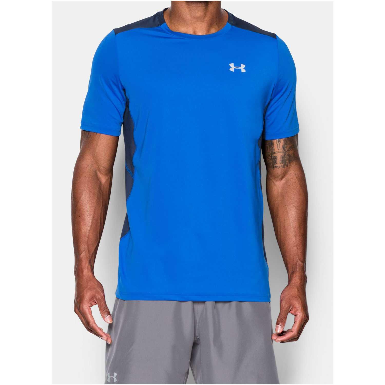 900af755081 Camiseta de Hombre Under Armour Azul / acero ua coolswitch run s/s ...