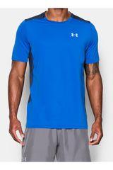 Under Armour Azul / acero de Hombre modelo UA COOLSWITCH RUN S/S Polos Deportivo Camisetas